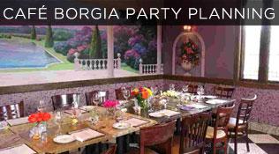 Cafe Borgia Lunch Menu
