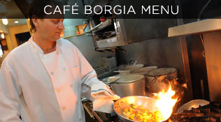Cafe Boria Menu